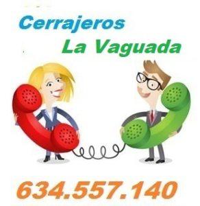 Telefono de la empresa cerrajeros La Vaguada
